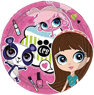 littlest pet shop plates
