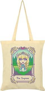 Deadly Tarot Kawaii The Empress Tote Bag Cream 38x42cm