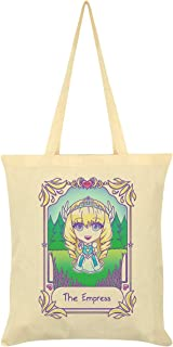 Deadly Tarot Kawaii The Empress Tote Bag Cream 38x42cm