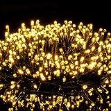 Avoalre Luci di Natale 1000 LEDs 25M, Catena Luminosa 8 Modalità Impermeabile IP44 Luci Albero di Natale Decorative per Interno Esterno Natale Atmosfera Romantica Camera Festa Nozze, Bianco Caldo