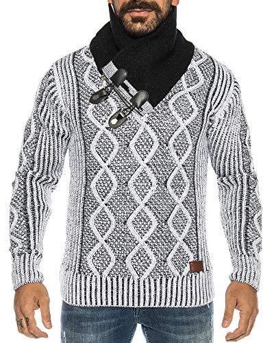 mehrere Farben ID564 Raff/&Taff Herren Sweatshirt Pullover inkl /Übergr/ö/ße bis 8XL