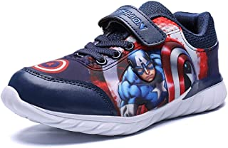 Fashion Kids Marvel Avengers Captain America Lightweight Sneakers Boys