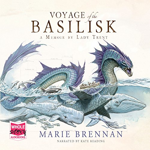 Voyage of the Basilisk                   By:                                                                                                                                 Marie Brennan                               Narrated by:                                                                                                                                 Kate Reading                      Length: 11 hrs and 34 mins     3 ratings     Overall 4.3