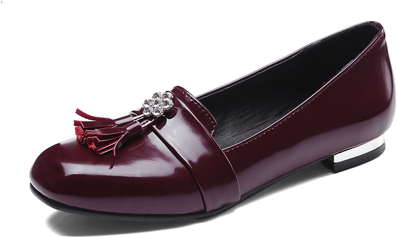Joddie Haha Sandals Black Beige Fashion Spring Autumn Flat shoes Woman Square Toe Shallow Casual Women Flats Plus Size 33-46