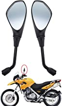 Sange Universal Motorcycle Mirrors Rear View 10mm Side Black Rearview Mirror for Aprilia Ducati Suzuki BMW F650GS F800R