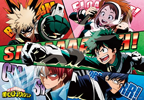 1000 piece jigsaw puzzle my hero academia future heroes! (51x73.5cm)