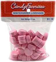 product image for Pink Wintergreen Lozenges 5 Ounce Peg Bags - 6 / Box
