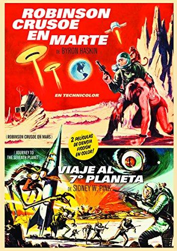 Robinson Crusoe En Marte + Viaje Al 7º Planeta (Robinson Crusoe On Mars + Journey To The Seventh Planet) [DVD]