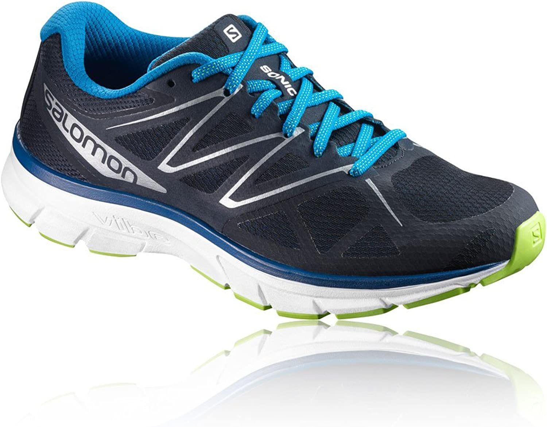 Salomon Men's Sonic shoes Navy Blazer White Imperial bluee 11