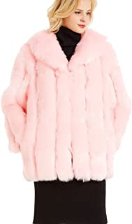 695a1951f Rvxigzvi Womens Faux Fur Coat Plus Size Parka Jacket Long Trench Winter  Warm Thick Outerwear Overcoat
