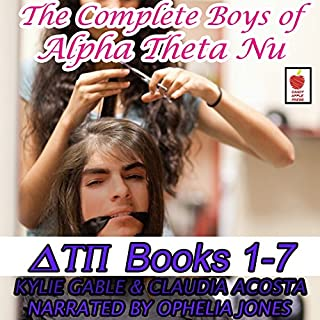 The Boys of Alpha Theta Nu Collection audiobook cover art