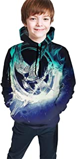Hunger Games Fly Unisex Kids Youth Hooded Sweate Pullover Hoodie Sweatshirt for Girl Boy