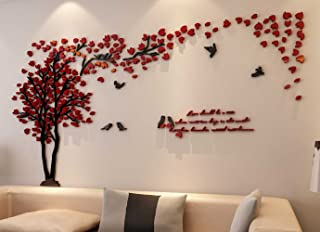 3d Couple Tree Wall Murals for Living Room Bedroom Sofa Backdrop Tv Wall Background, Originality...