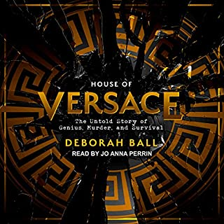 House of Versace audiobook cover art