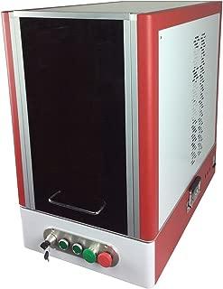 Maiman Enclosure 20W Fiber Laser Engraver Machine, 110V/60Hz, FDA, for Small and Flat Workpiece, Safe Laser
