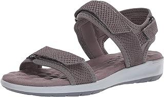 حذاء نسائي من Walking Cradles بلون رمادي من الليكرا/غير لامع مطبوع 6 W (D)