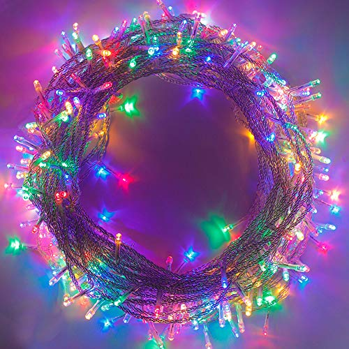 Outdoor Indoor String Lights 35m/115ft 8 Modes Memory Function End-to-End Extendable Mini Lights for Tree Halloween Waterproof Fairy String Lights Xmas Wedding Party Holiday Decoration - Multicolour