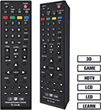 Gvirtue TS-13 Universal Remote Control Compatible Replacement for Toshiba TV/HDTV/LCD/LED, CT-90325 CT-90326 CT-90329 CT-8037 CT-90302 CT-90275 CT-90 CT-90366