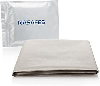 Tejido de blindaje – Tamanio grande 108x92 cm – Protección de radiación – Blindaje de signales WIFI - el tejido conductor ...