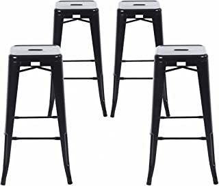 Best black wood bar stools with back Reviews