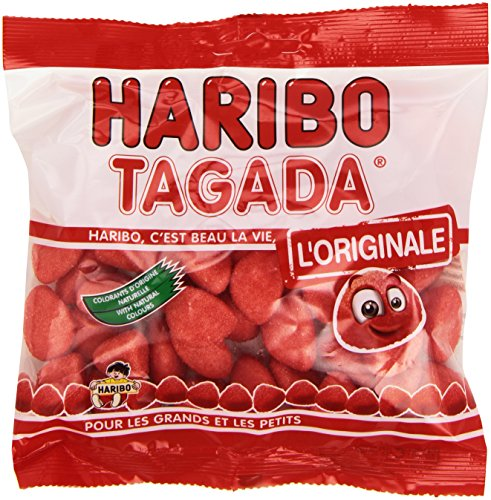 Haribo Tagada Strawberry Favour -Candy from France