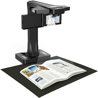 eloam Portable Document Scanner, 5-inch Screen, Support Offline Scan, Auto Flatten, Split & Deskew, Convert Images to Word/Excel/PDF, PC only, 1860TP