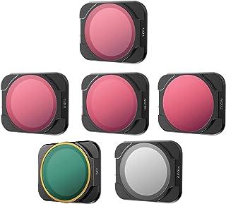 LuDa RC Drone Lens Filter Set ND CPL NDPL MCUV Kits for Choice for DJI Air 2S Mini Airplane Mini Camera Accessories Multi-...