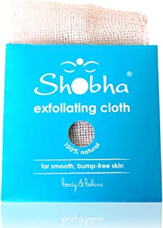 Sponsored Ad - Shobha Bikini Area Washcloth: Intimate Exfoliating Cloth – Natural Dead Skin Remover - Ideal Before & After...