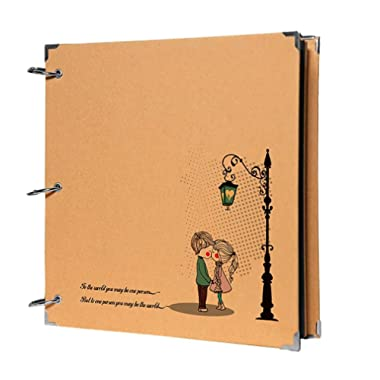 10  X 7  Scrapbook DIY Photo Book Kissing Lover Family Photo Albums Gifts Ideas