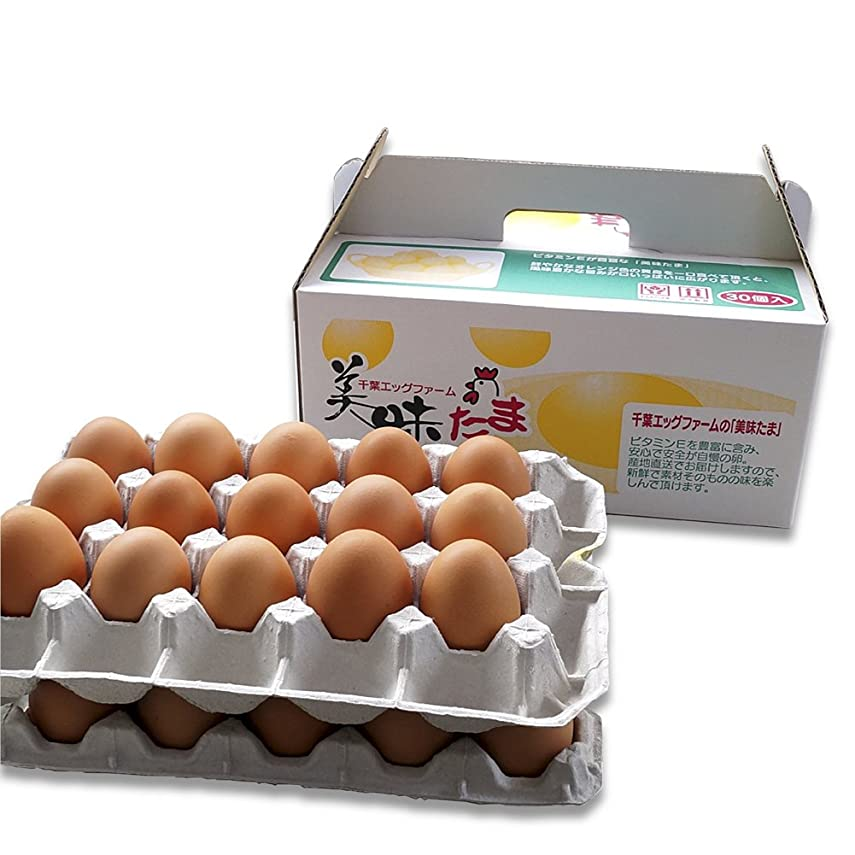 崖道徳のよりブログ に 書きたくなる 超濃厚 卵 養鶏場 直送 美味たま(30個)