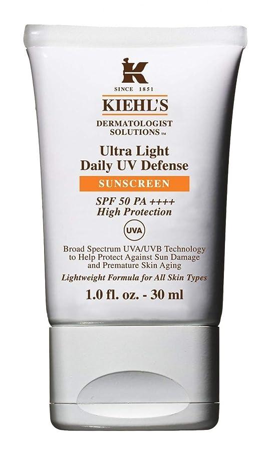 余韻シエスタ市区町村Kiehl's(キールズ) キールズ UVディフェンス 30mL / KIEHL'S Ultra Light Daily UV Defense Sunscreen SPF 50 PA++++