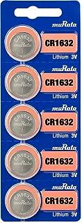 ムラタ CR1632 日本製 リチウム電池 5個入り