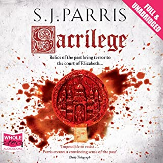 Sacrilege                   By:                                                                                                                                 S. J. Parris                               Narrated by:                                                                                                                                 Laurence Kennedy                      Length: 16 hrs and 31 mins     331 ratings     Overall 4.5