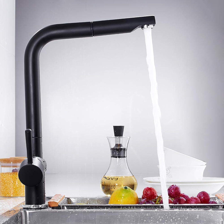 Gorheh Küchenarmaturen Einhand-Ausziehküchenarmatur Einloch-Drehgriff 360-Grad-Wassermischbatterie Mischbatterie