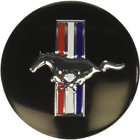 4x 60mm 2.2 US Running Horse Wheel Center Hub Cap Emblem Badge For Ford Mustang