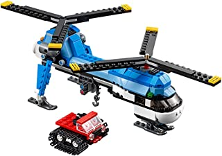 twin spin helicopter lego