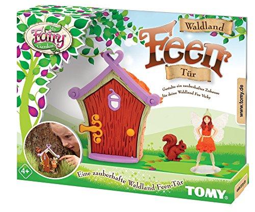 Tomy My Fairy Garden La Puerta del Bosque – Juguete para Exteriores con Figura de Hada para niños a Partir de 4 años – para Jugar al Aire Libre e interacción con la Naturaleza