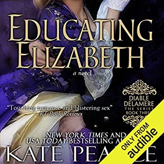 Educating Elizabeth                   By:                                                                                                                                 Kate Pearce                               Narrated by:                                                                                                                                 Julie Maisey                      Length: 10 hrs and 55 mins     1 rating     Overall 4.0