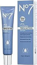No .7 Lift & Luminate Triple Action Serum, Skin Feels Firmer, 1 US OZ, 30ML