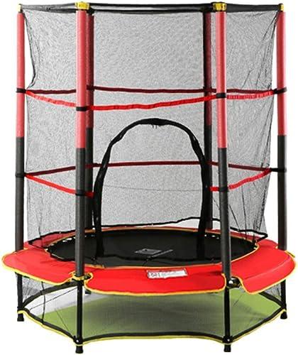 buena calidad FDHLTR Cama elástica Interior Infantil para bebé y rojo rojo rojo para Niños trampolín. Trampolín  contador genuino