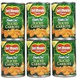 Del Monte Sliced Carrots, 14.5 oz, 6 pk