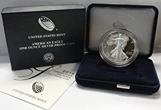 2014 W American 1 oz Silver Eagle Dollar PROOF US Mint