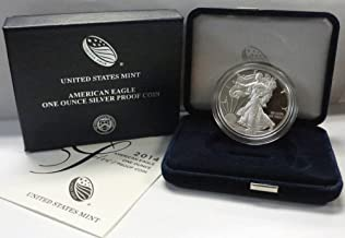 2014 W American 1 oz Silver Eagle Dollar PROOF US Mint