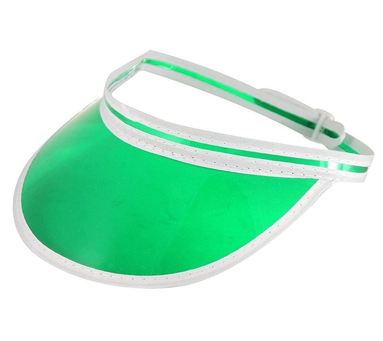Green Poker Visor