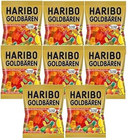 ハリボー グミ ゴールドベア100g×8
