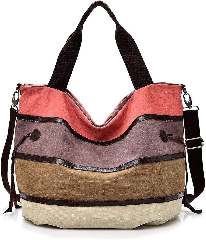 Zmsdt Large Pocket Casual Tote Women's Handbag Shoulder Handbags Canvas Big Capacity Bags for Women