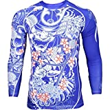 Rashguard Grips Bushido Limited Edition-xl MMA BJJ Fitness Grappling Camiseta de...