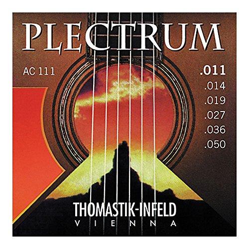 CUERDAS GUITARRA ACUSTICA - Thomastik (AC/111) Plectrum (Juego Completo 011/050)