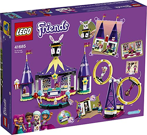 LEGO Friends Magical Funfair Roller Coaster 41685 Building Kit; Pretend Playset for Kids Who Love Theme Park Toys; New 2021 (974 Pieces)