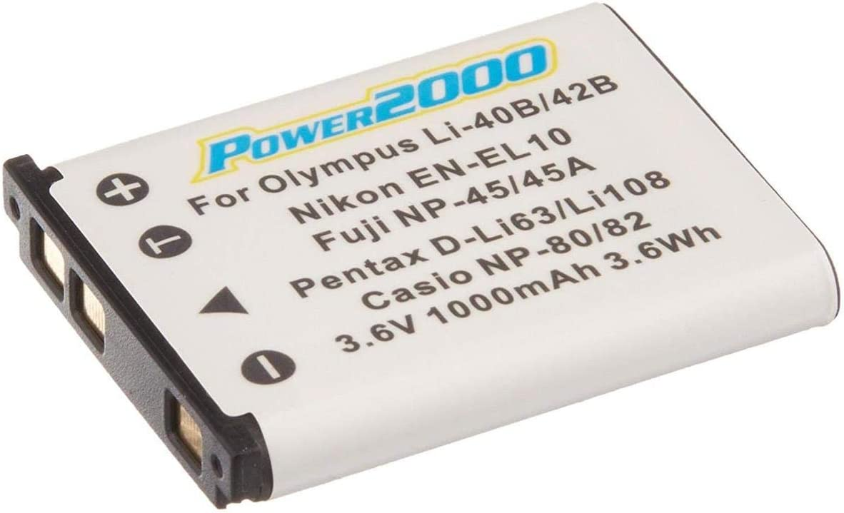 Power Now on sale 2000 EN-EL10 3.7V Lithium Replacement 1000mAh Rechargeable Free Shipping New